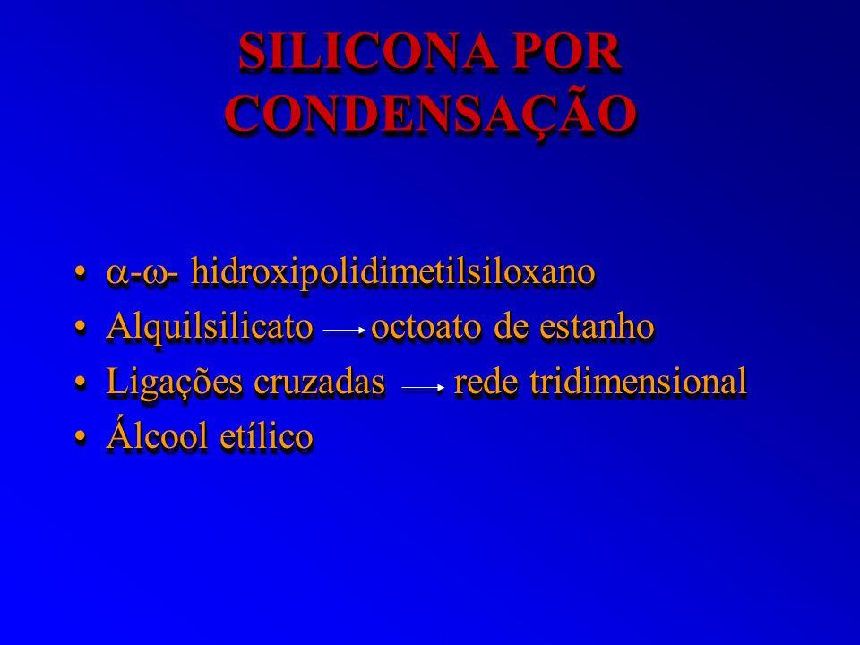 SILICONA POR CONDENSAÇÃO