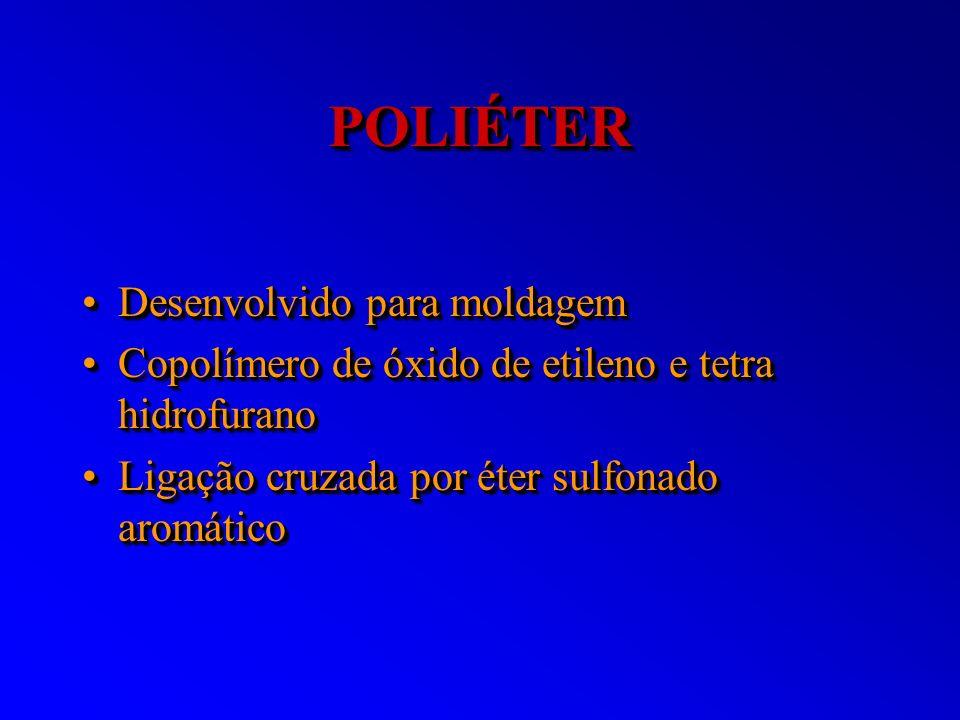 POLIÉTER Desenvolvido para moldagem
