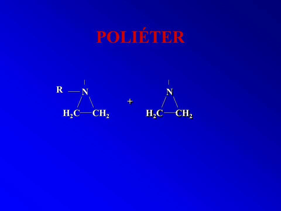 POLIÉTER R N N + H2C CH2 H2C CH2