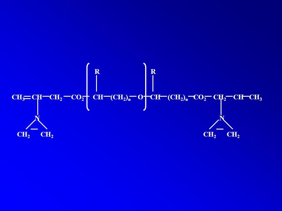 R R CH3 CH CH2 CO2 CH (CH2)n O CH (CH2)n CO2 CH2 CH CH3.
