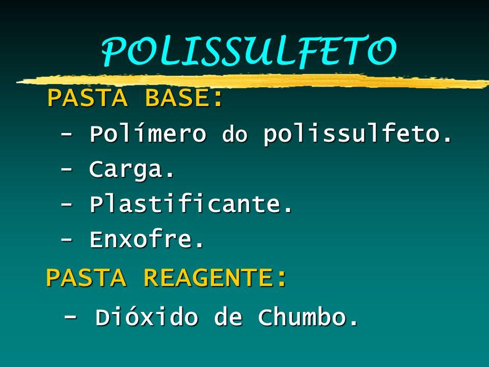 POLISSULFETO PASTA BASE: - Dióxido de Chumbo.