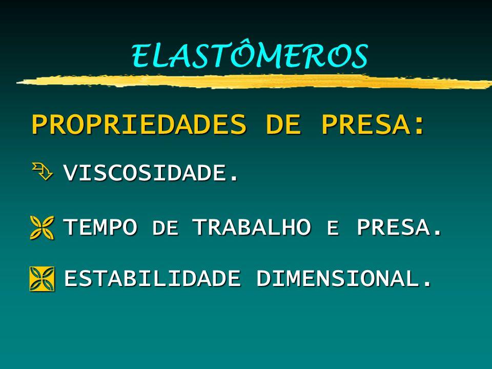 PROPRIEDADES DE PRESA: