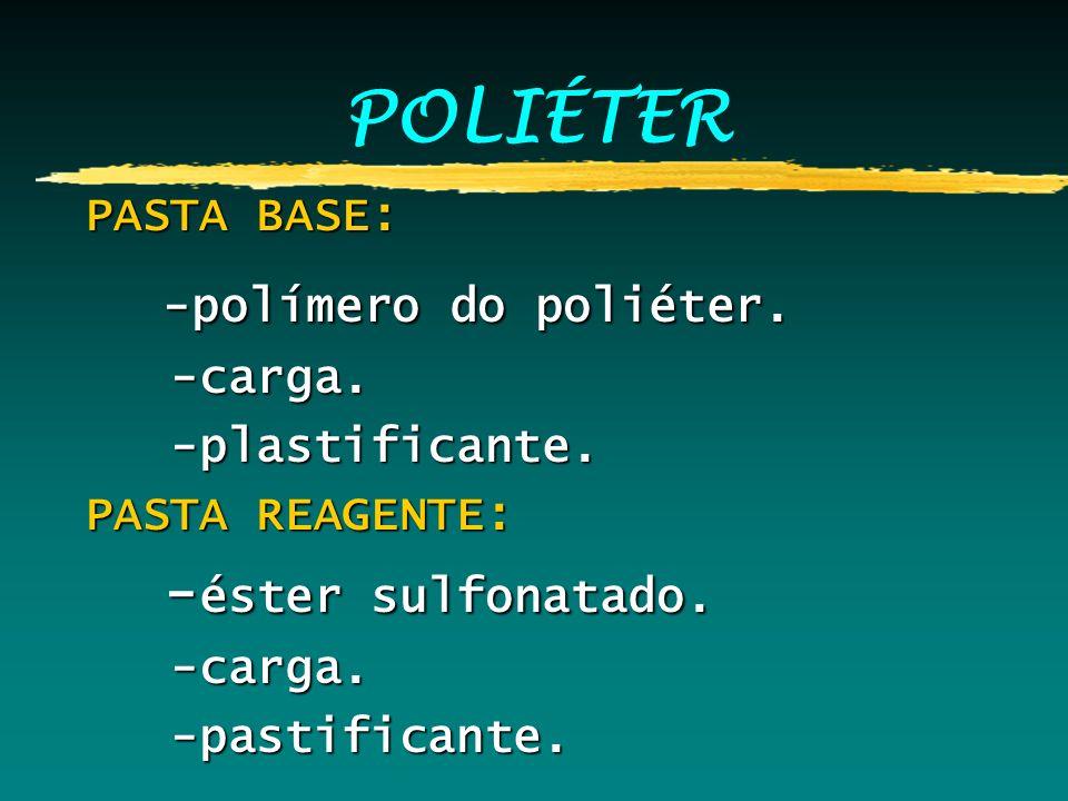 POLIÉTER -polímero do poliéter. -éster sulfonatado. PASTA BASE: