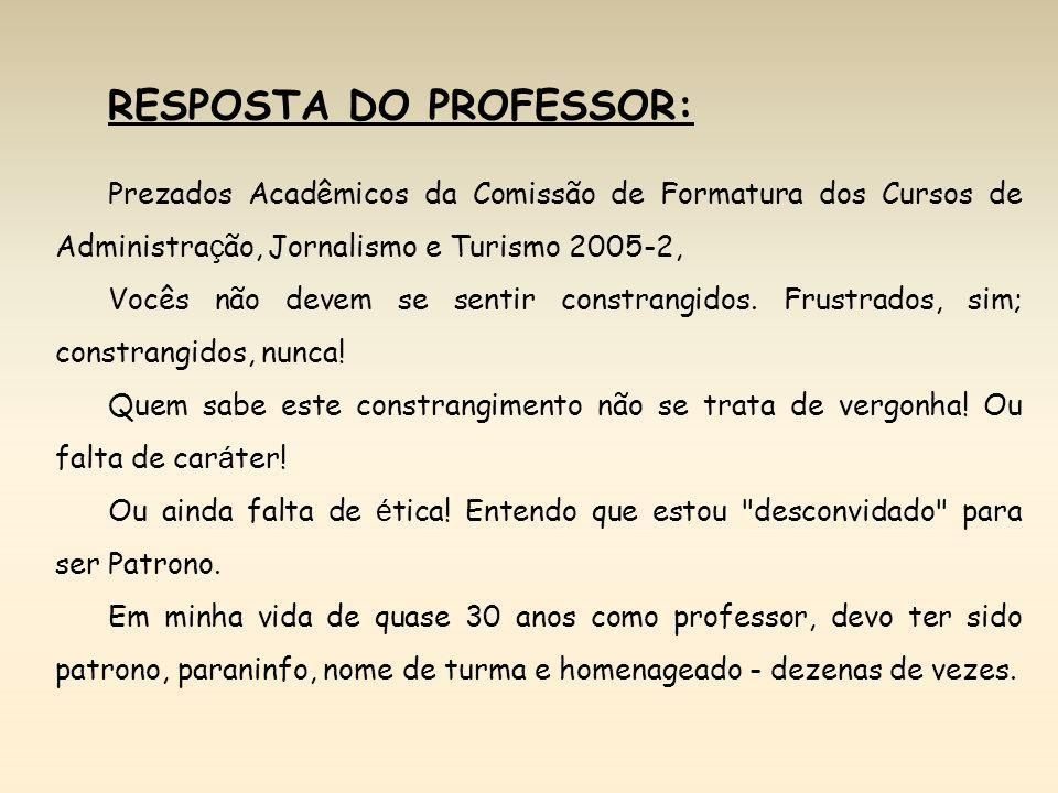 RESPOSTA DO PROFESSOR: