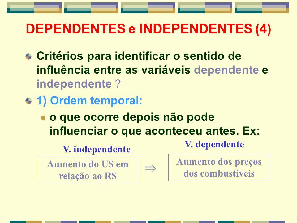 DEPENDENTES e INDEPENDENTES (4)