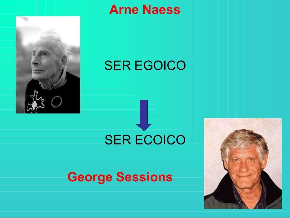 Arne Naess SER EGOICO SER ECOICO George Sessions