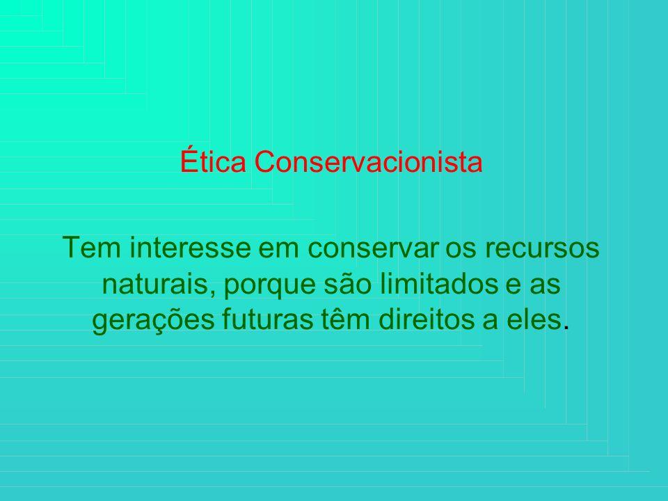 Ética Conservacionista