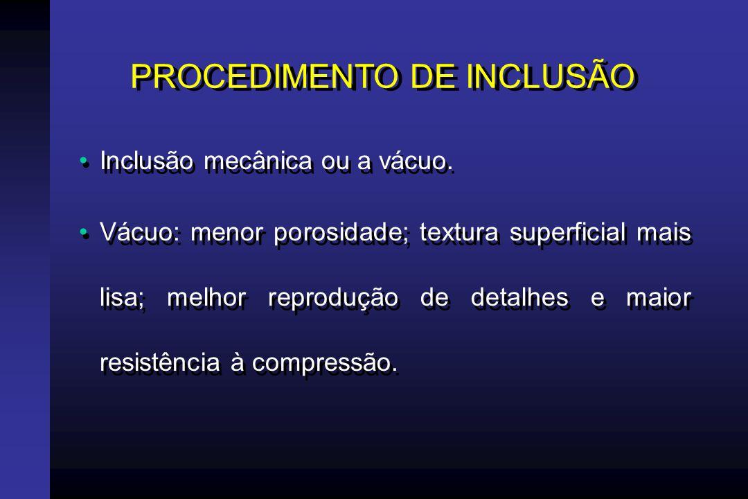 PROCEDIMENTO DE INCLUSÃO