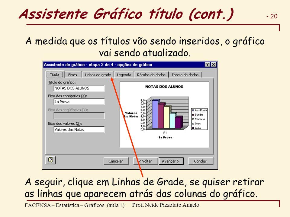 Assistente Gráfico título (cont.)