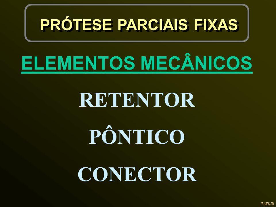 PRÓTESE PARCIAIS FIXAS
