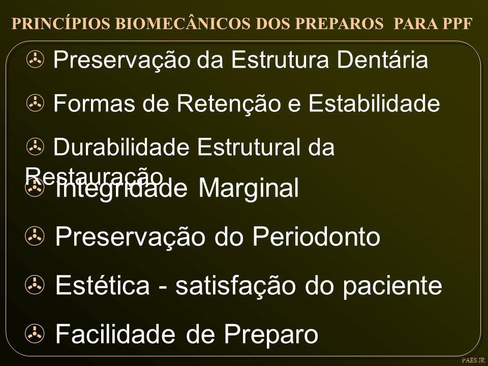 Preservação do Periodonto Estética - satisfação do paciente