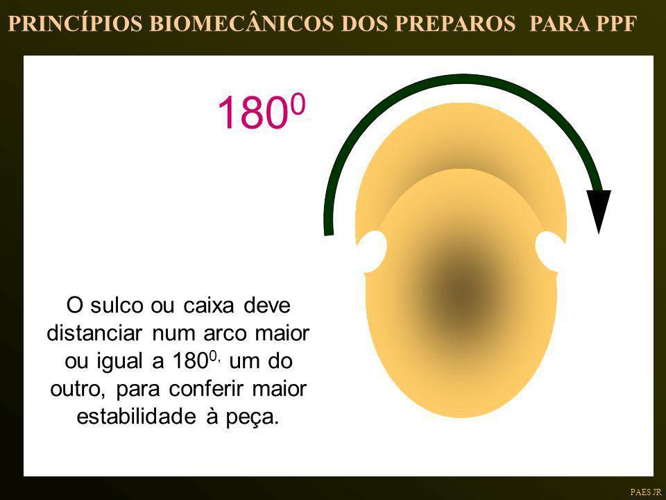 1800 PRINCÍPIOS BIOMECÂNICOS DOS PREPAROS PARA PPF