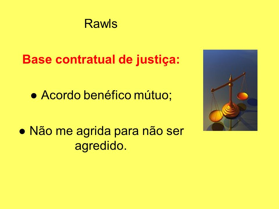 Base contratual de justiça: