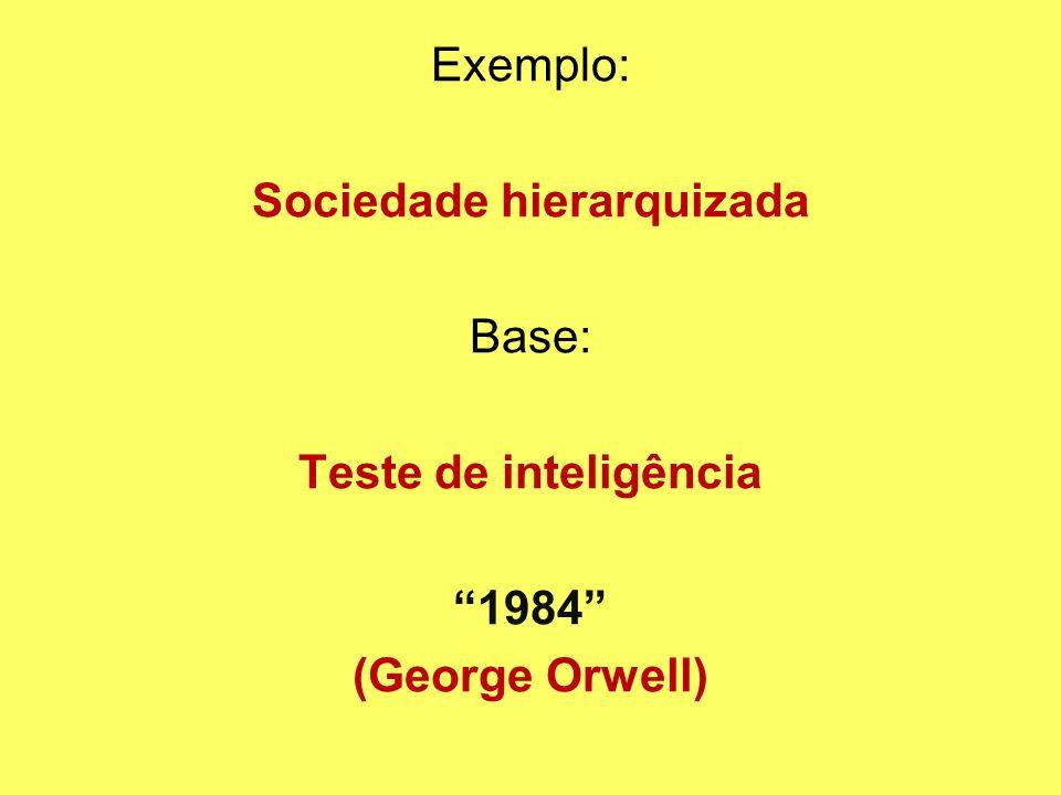Sociedade hierarquizada