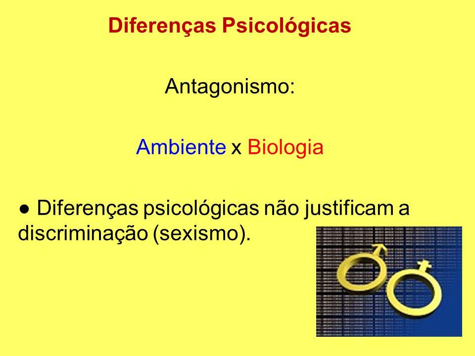Diferenças Psicológicas