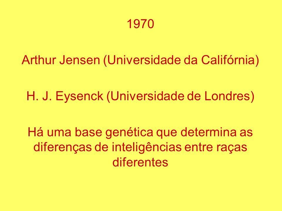 Arthur Jensen (Universidade da Califórnia)