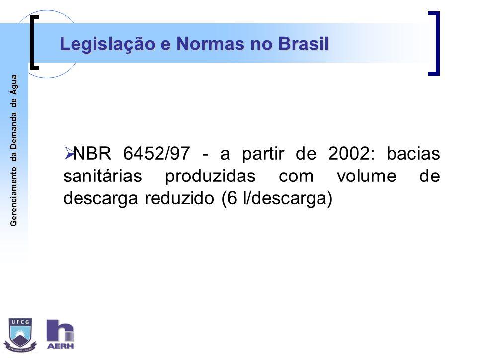 Legislação e Normas no Brasil