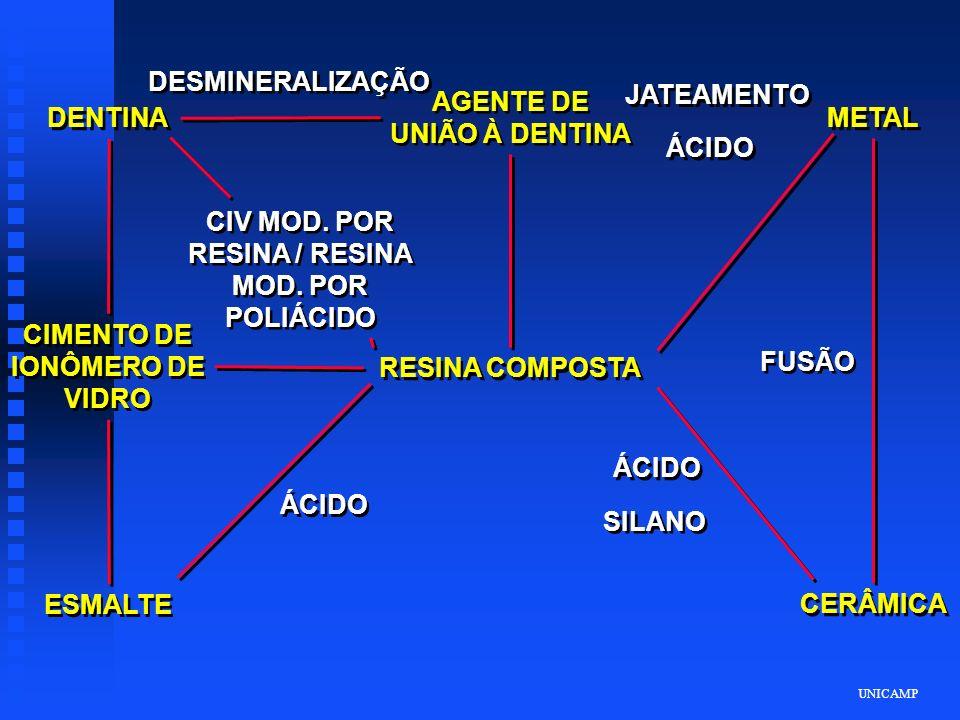 AGENTE DE UNIÃO À DENTINA DENTINA METAL ÁCIDO