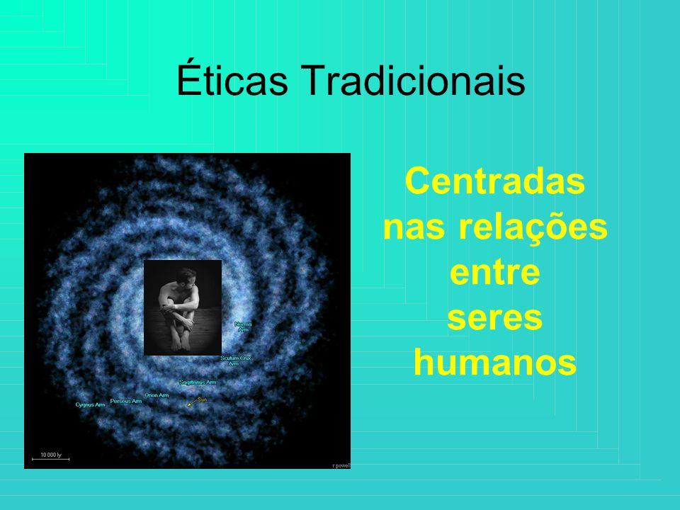 Centradas nas relações entre seres humanos