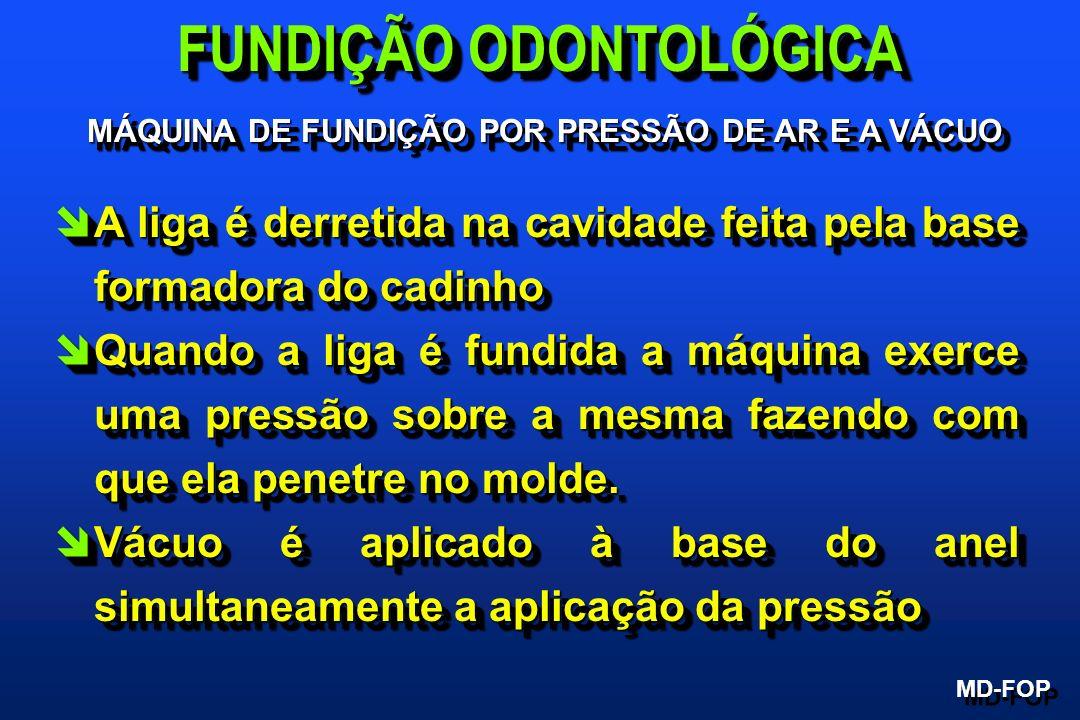 FUNDIÇÃO ODONTOLÓGICA MÁQUINA DE FUNDIÇÃO POR PRESSÃO DE AR E A VÁCUO