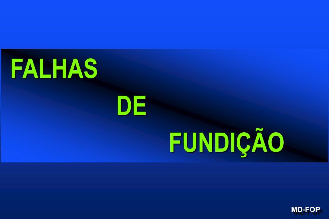 FALHAS DE FUNDIÇÃO MD-FOP