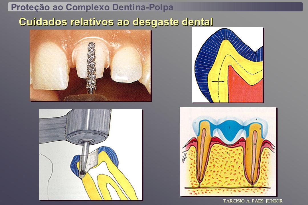 Cuidados relativos ao desgaste dental