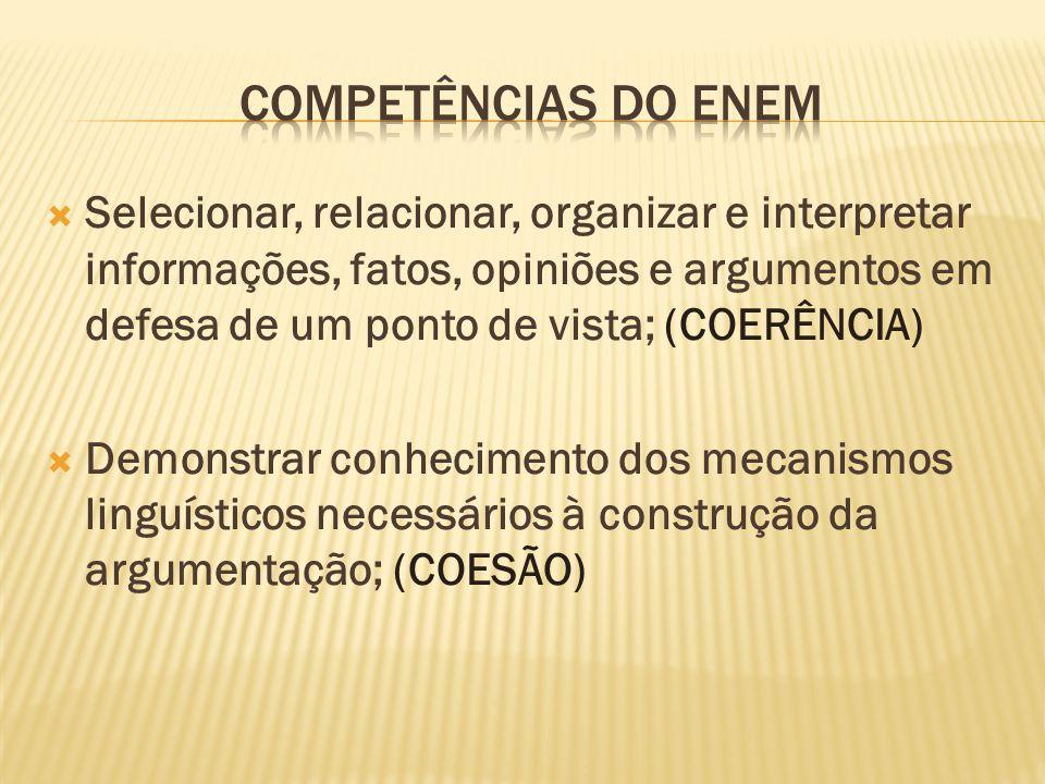 Competências do ENEM