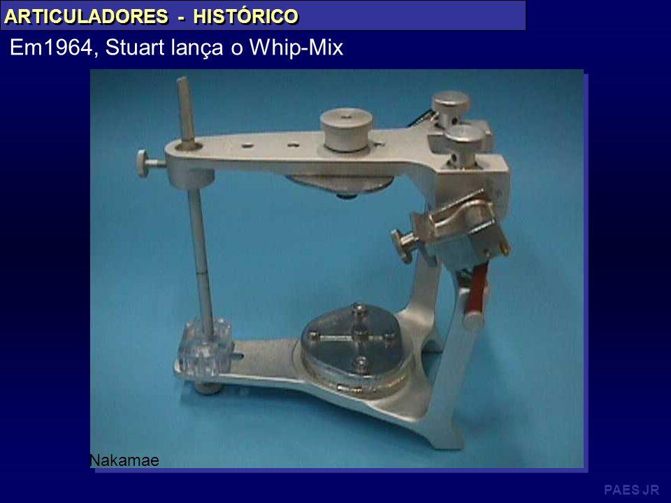 Em1964, Stuart lança o Whip-Mix
