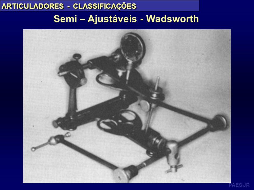 Semi – Ajustáveis - Wadsworth