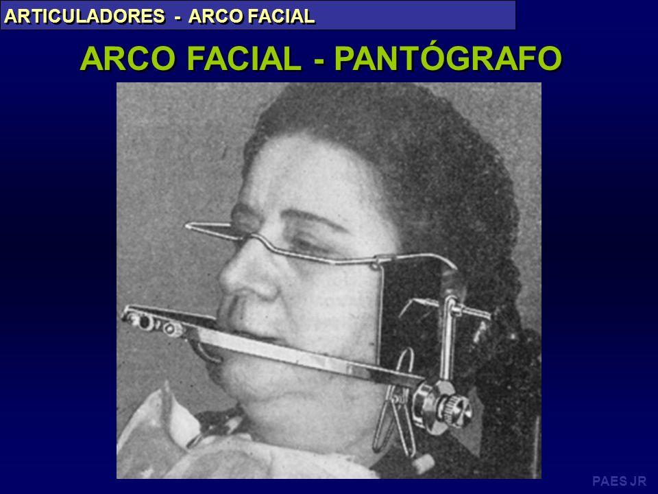ARCO FACIAL - PANTÓGRAFO