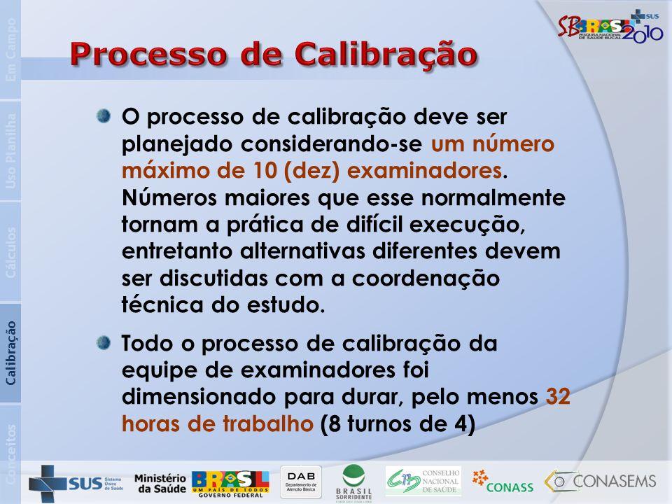 Processo de Calibração