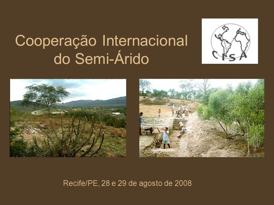 Cooperação Internacional do Semi-Árido
