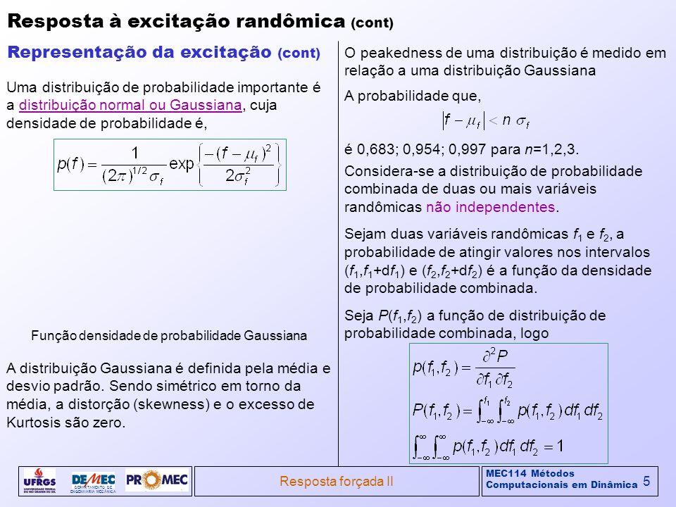 Função densidade de probabilidade Gaussiana