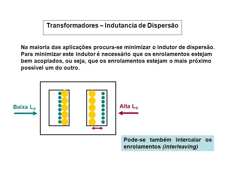 Transformadores – Indutancia de Dispersão