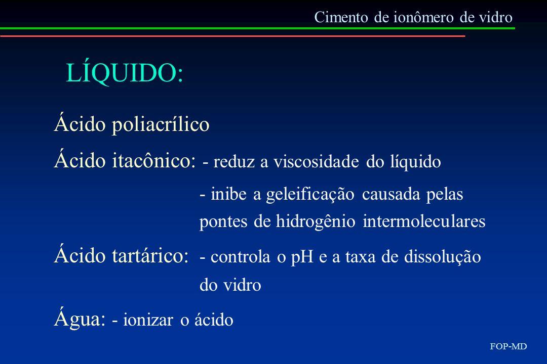 LÍQUIDO: Ácido poliacrílico