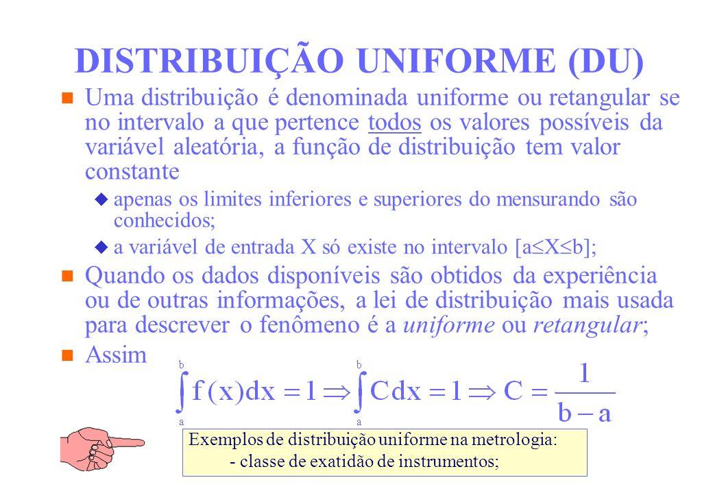 DISTRIBUIÇÃO UNIFORME (DU)