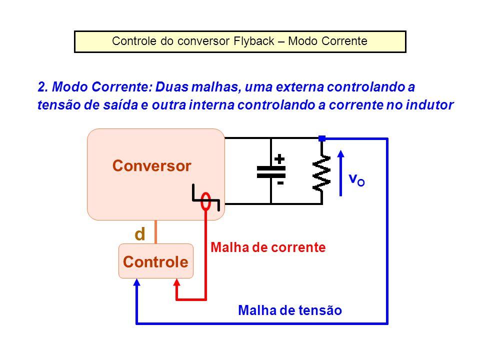 Controle do conversor Flyback – Modo Corrente