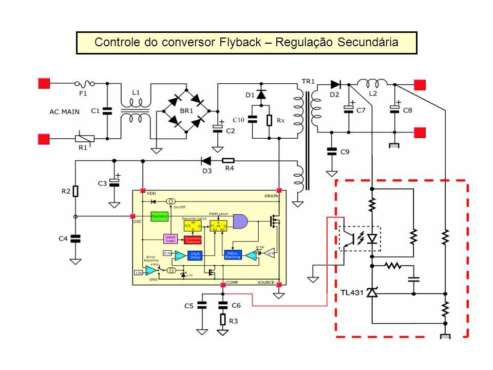 Controle do conversor Flyback – Regulação Secundária