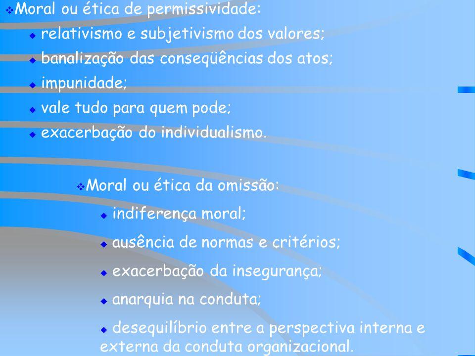 Moral ou ética de permissividade: