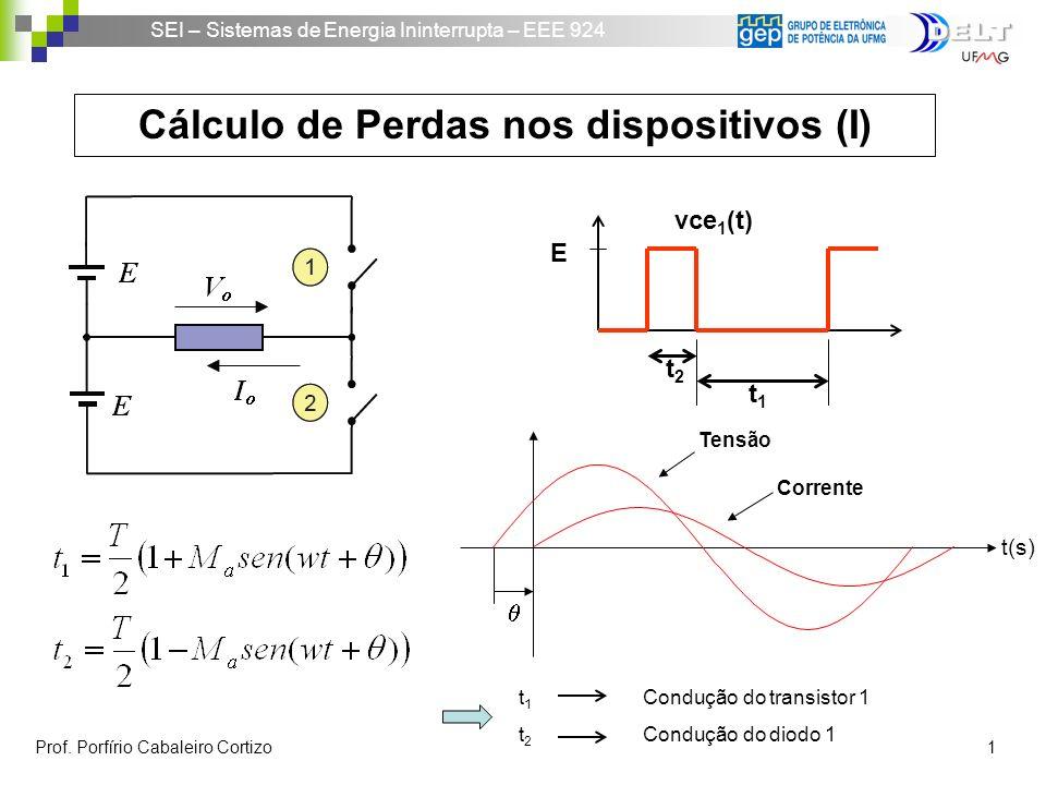 Cálculo de Perdas nos dispositivos (I)
