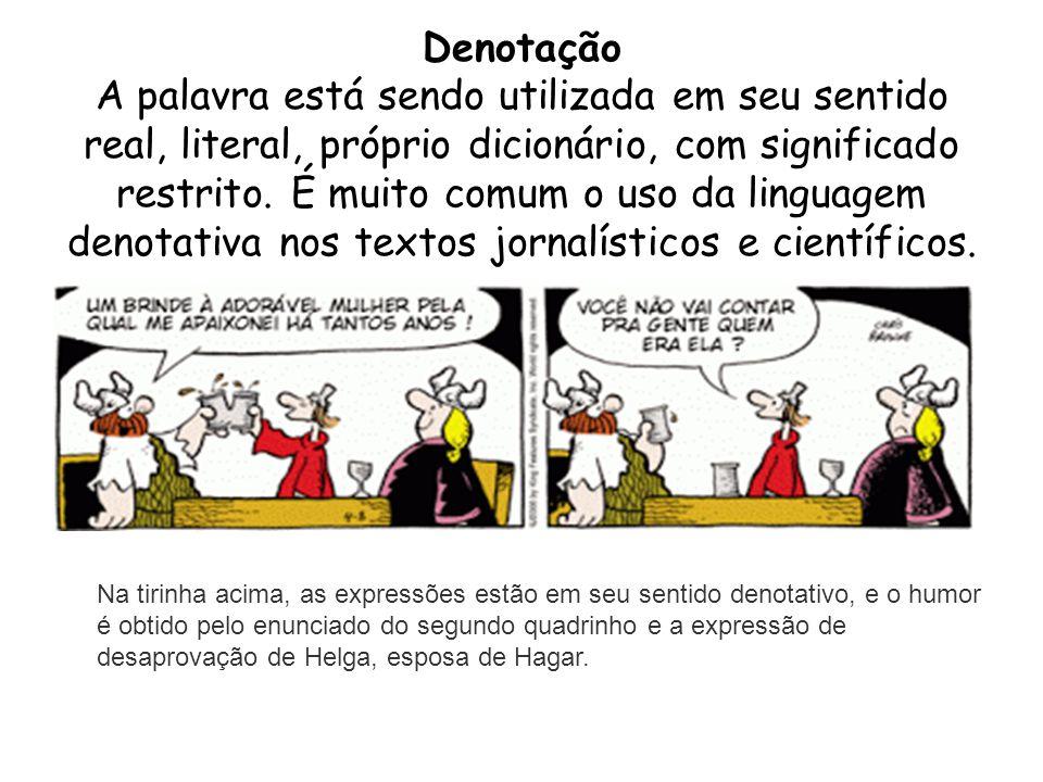 Tipos De Linguagem Denotativo Sentido Real Dicionário: Sinais De Pontuação.