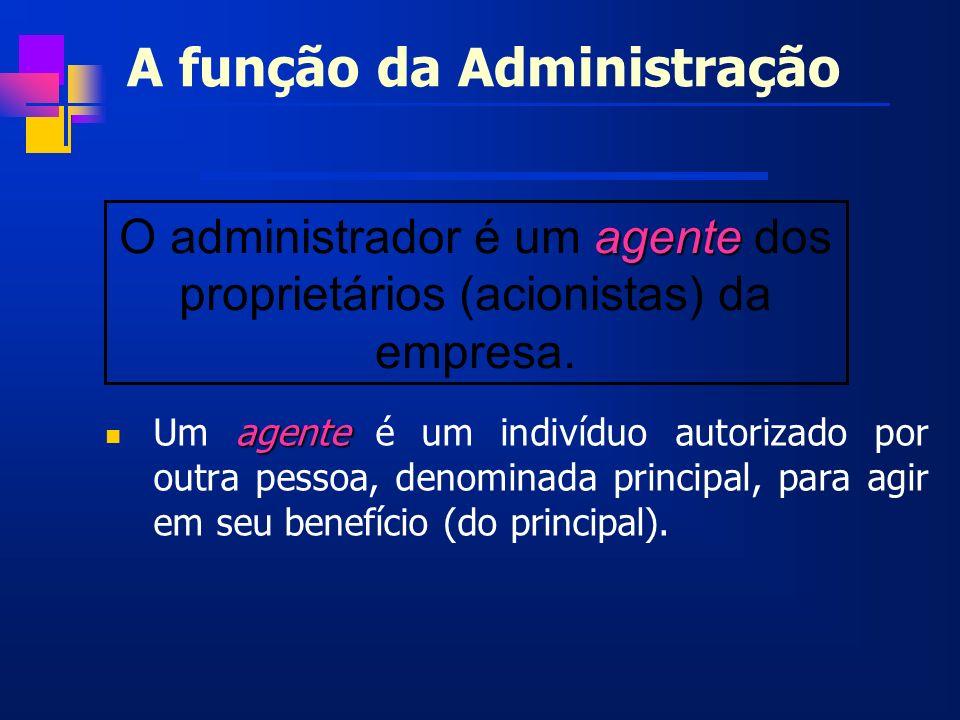 A função da Administração
