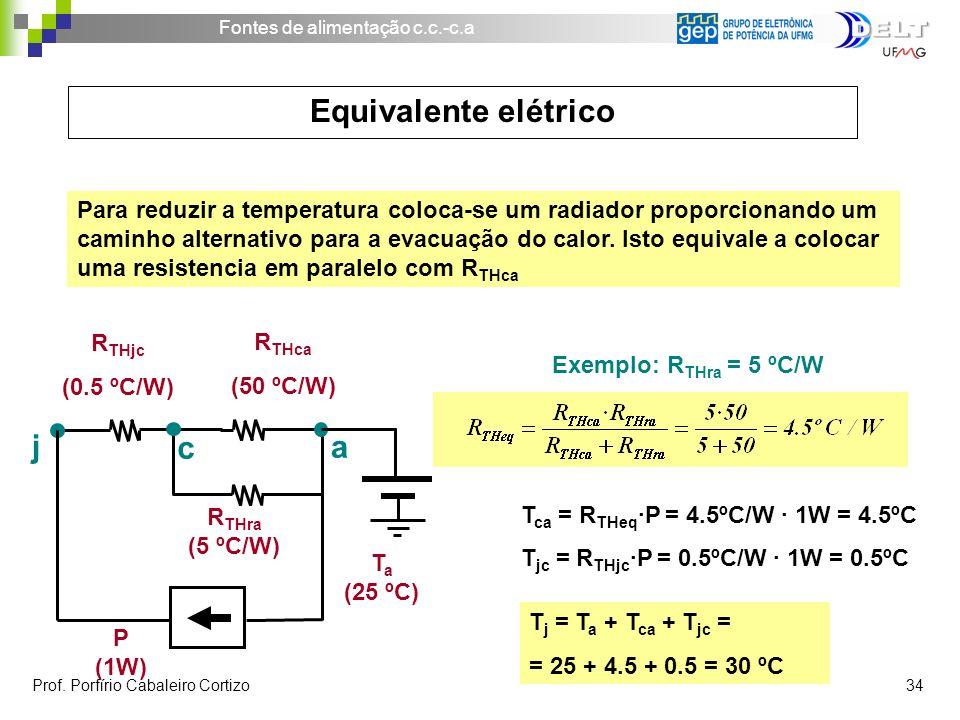 Equivalente elétrico j c a