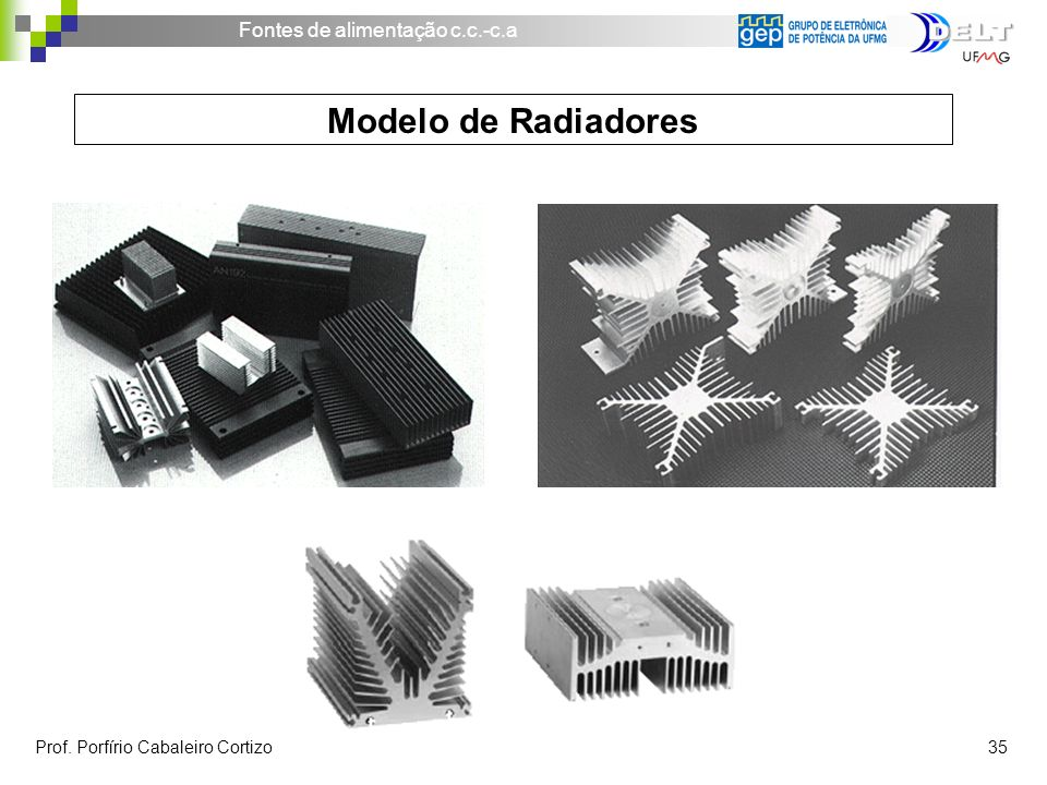 Modelo de Radiadores