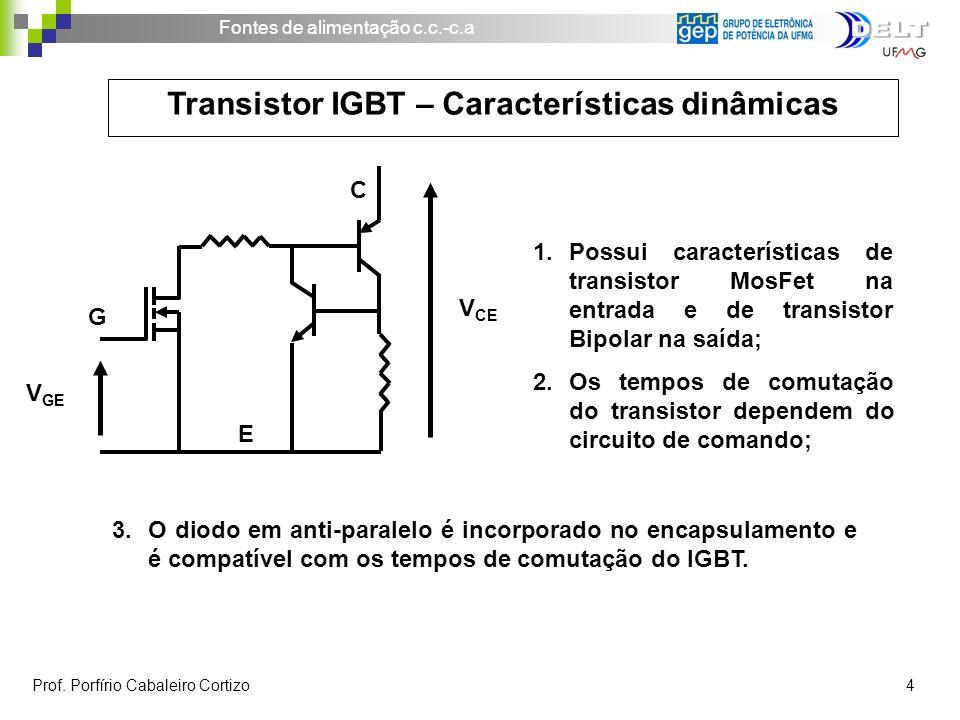 Transistor IGBT – Características dinâmicas