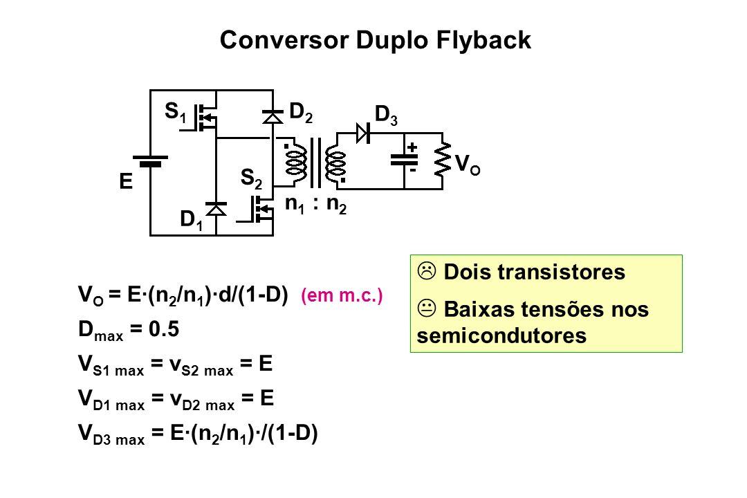 Conversor Duplo Flyback