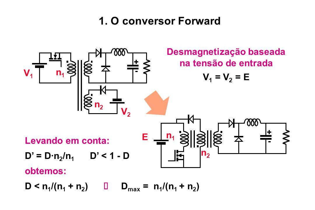 Desmagnetização baseada na tensão de entrada