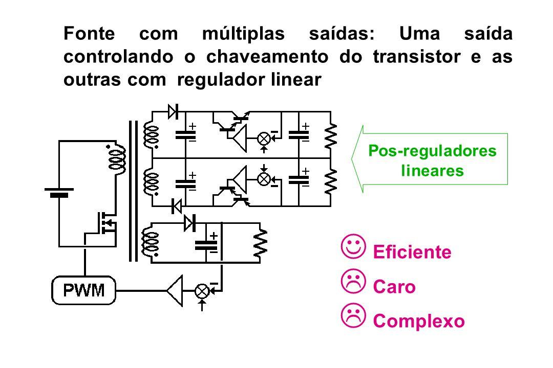 Pos-reguladores lineares