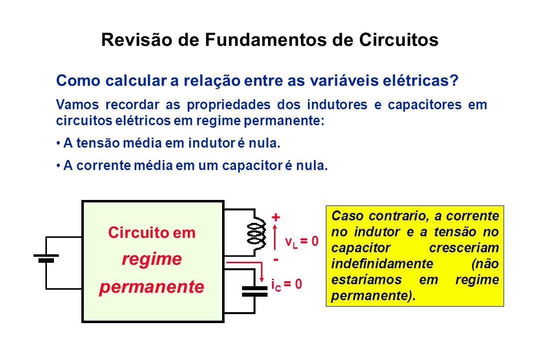 Revisão de Fundamentos de Circuitos