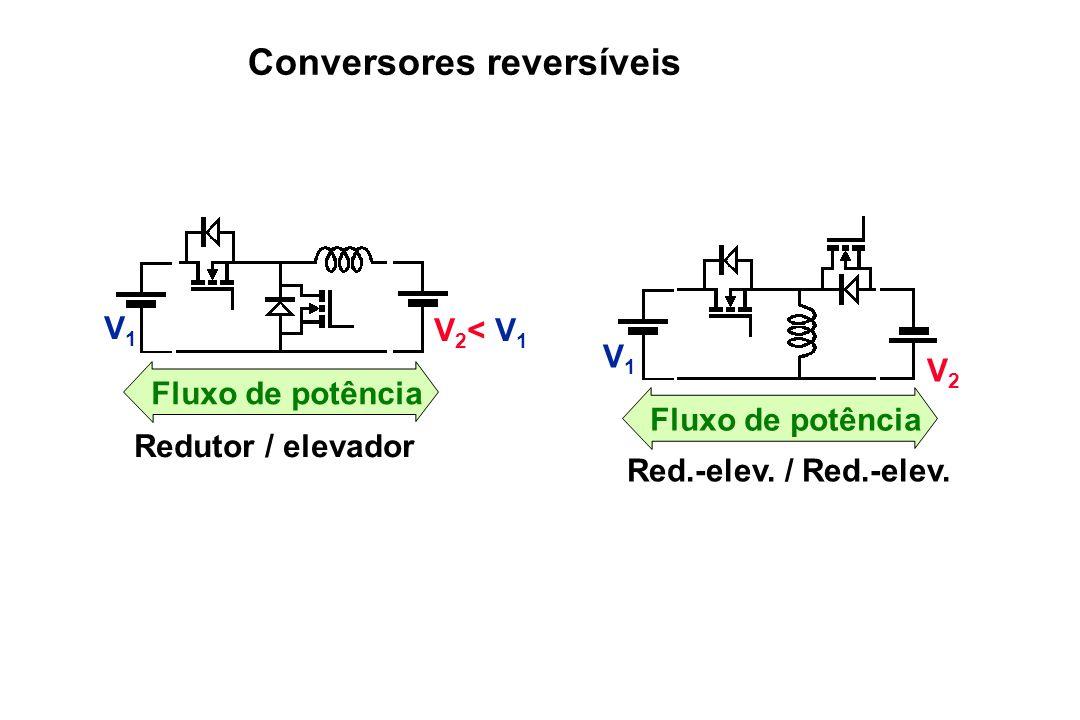 Conversores reversíveis